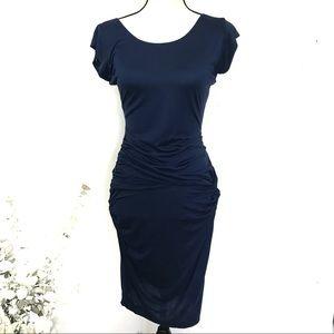 ASOS Navy Blue Dress